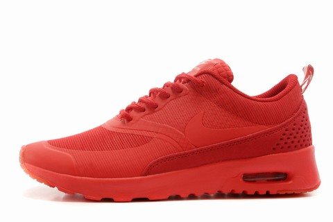 Nike Air Max Thea Rouge Pas Cher